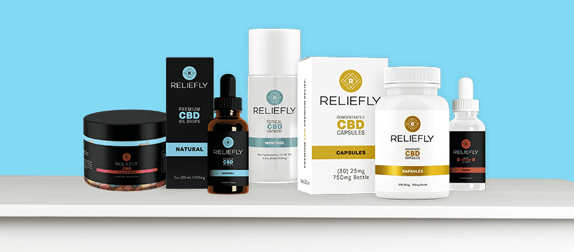 Reliefly Quick Guide Product Images